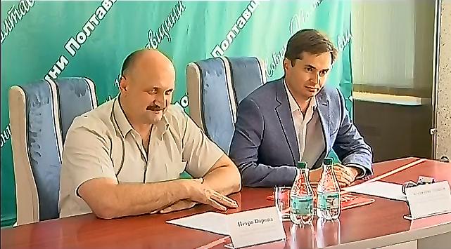 Петро Ворона та Костянтин Іщейкін